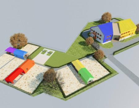 Детский сад на 140 мест с бассейном