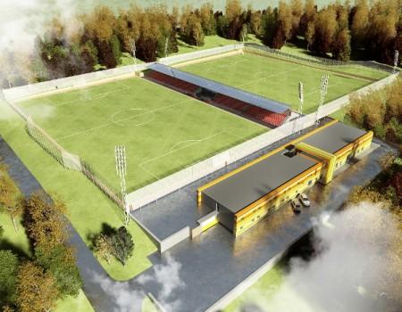 Спортивно-восстановительный центр в районе ул. Серова