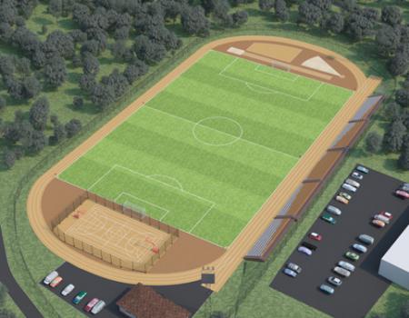 Реконструкция стадиона в Большом Камне