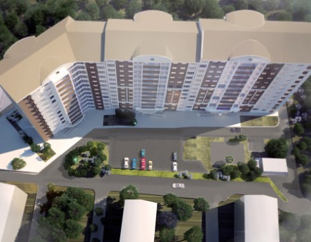 Жилой дом в районе ул. Стаханова