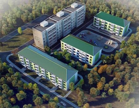 Группа жилых домов в г. Лесозаводске