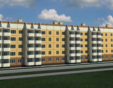 Дом на 120 квартир в Уссурийске