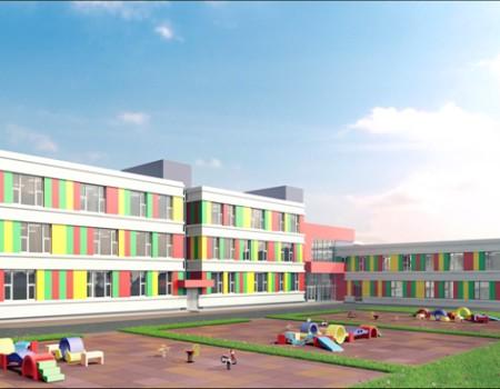 Детский сад в районе ул. Постышева